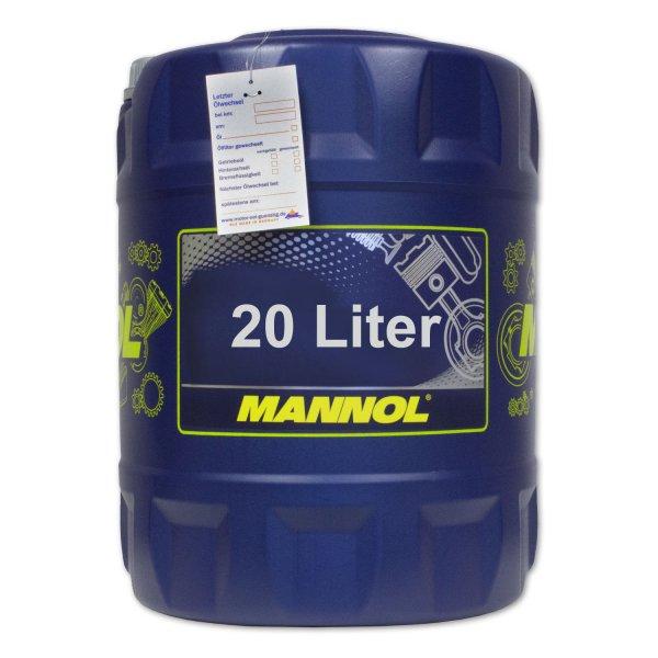 Mannol Defender 10W-40 20l für 35,99€ VSK-frei bei Ebay