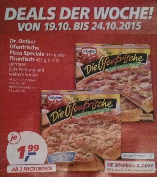 [Real, Bundesweit?] 2x Dr. Oetker Die Ofenfrische Pizza mit Coupon für zusammen 3,48€ in der kommenden Woche