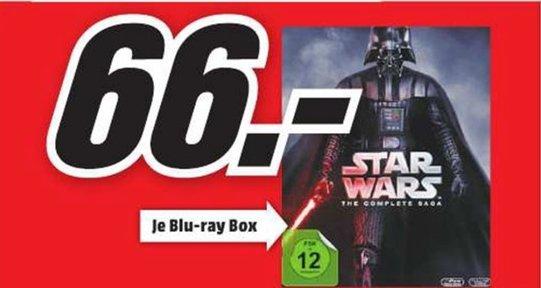 [Lokal Mediamarkt Neumünster] Star Wars: The Complete Saga I-VI [Blu-ray] für 66,-€