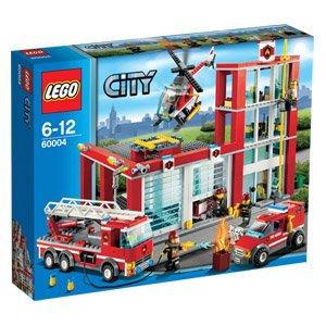 *am Mittwoch* [REAL-Märkte] LEGO City Feuerwehr-Hauptquatier [60004]