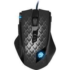 Sharkoon Drakonia Black Gaming Mouse inkl. Bungee Hub