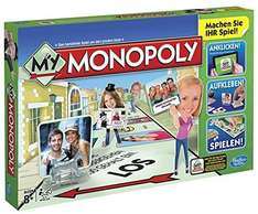[Amazon.de-Prime] Hasbro A8595100 - My Monopoly, Familien-Brettspiel, deutsche Version