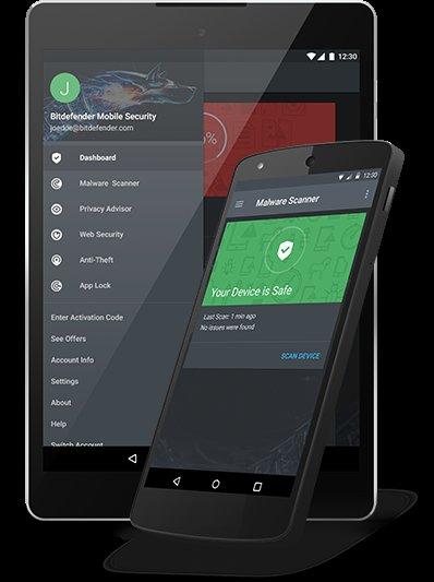 Bitdefender Mobile Security 2016 - 6 Monate kostenlos