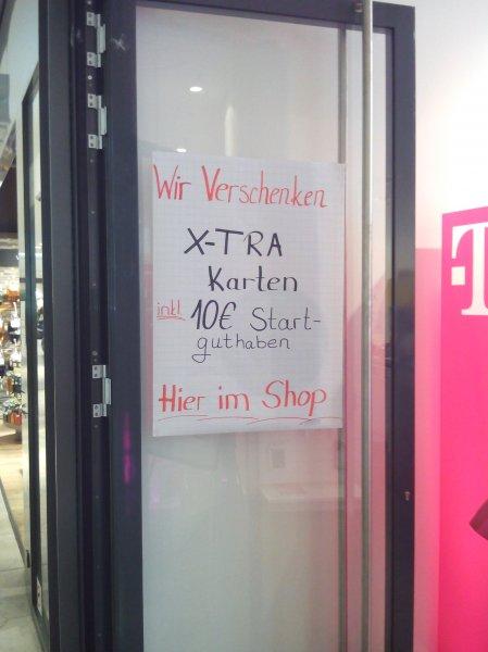 [Lokal] Stuttgart Telekom Xtra-Card Tarif Triple Flat 2 Karten Pro Person Gratis