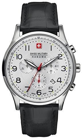 [timeshop24.de] Swiss Military Hanowa Patriot 06-4187.04.001 Herren Edelstahl-Chronograph mit Saphirglas für 114,07€ incl.Versand!