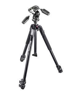 Manfrotto MK190X3-3W Serie 190 Kit mit Kopf 804RC2 für 144,33 € @Amazon.it