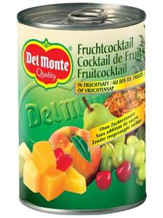[Amazon.de-Marktplatz] Del Monte Frucht- Cocktail in Saft , 12er Pack (12 x 250 g)