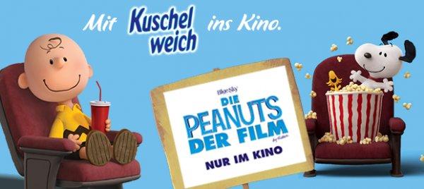 """3 x Kuschelweich kaufen & 2 Kinokarten für """"Die Peanuts Der Film"""" gratis / limitiert"""