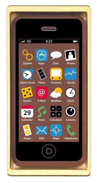 Heilemann Confiseri Schokoladen Smartphone 10er Pack (10 x 40g) für 14,75€ bei Amazon mit Prime