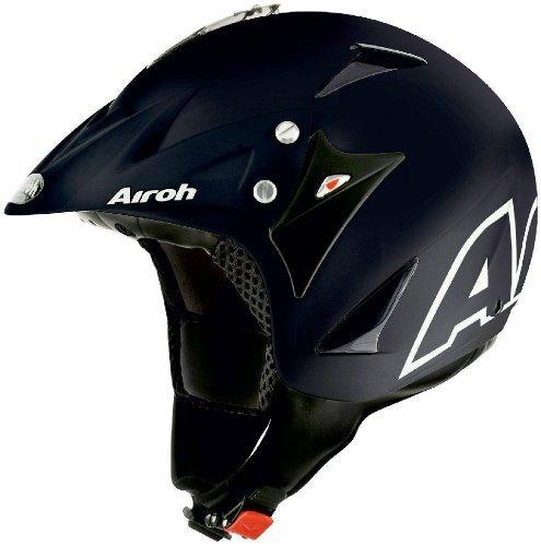 [Amazon-Prime] Airoh EC17 Motorrad Helm Evergreen, Größe : 54 cm  XS, Schwarz