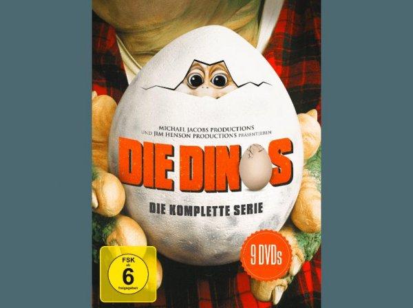 [Saturn Super Sunday] Die Dinos - Die komplette Serie - (DVD) für 19.99€ oder 3 Boxen für 39.96€