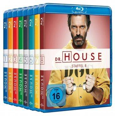 Dr. House 1-8 Collection - die komplette Serie auf Blu-ray @ Media-Dealer