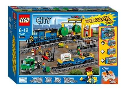 Intertoys    LEGO 66493 City Superpack 4 in 1  Eisenbahn Superpack ist das  Onlineshop