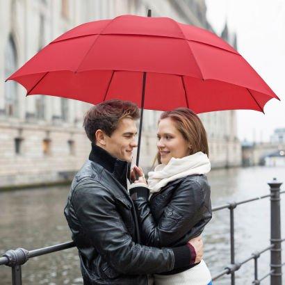 ALDI NORD ab 22.10. Partnerschirm Regenschirm 135cm Spannweite & Windhutze