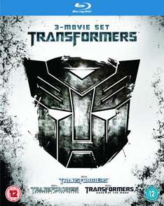 [Zavvi] Transformers 1-3 Blu-Ray im Schuber, 3-Movie Set Transformers (UK-Import mit deutschem Ton) Uncut, Regionfree für 10,35€ inc. Versand