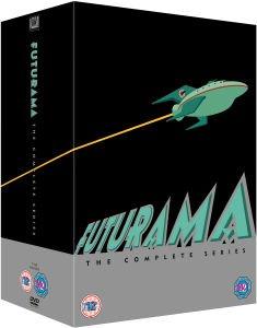 (UK) -O-Ton- Futurama Season 1-8 DVD für 32.29€ @ Zavvi