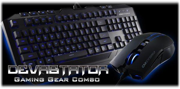 [NBB]  Cooler Master CM Storm Devastator  beleuchtete Gaming Maus und Gaming Keyboard im Gaming Bundle für 15 Euro exkl. VSK statt 33,99 Euro