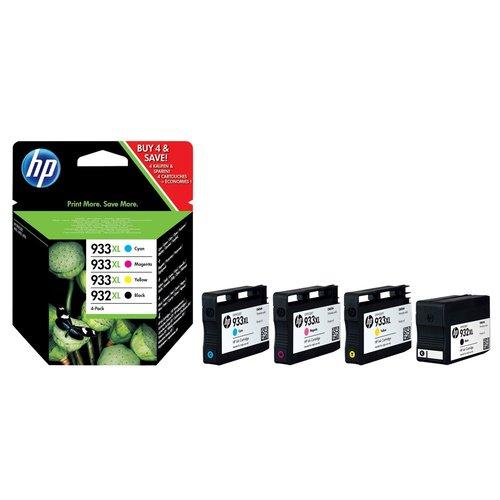 HP Tinte HP 932XL/933XL Combo Pack für 29,99€ + Versandkosten