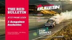 3 Ausgaben The Red Bulletin for free