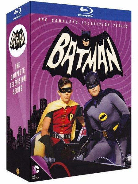 [Amazon Spanien] Bäng Zong Pow! Batman - Die komplette TV-Serie aus den 60ern (13 Blu-rays) für 31,61€ incl.Versand nach Deutschland!