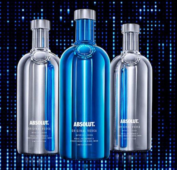 [real Supermärkte] Absolut Vodka 0,7 Liter *Special Edition Electrik* für 10,99€