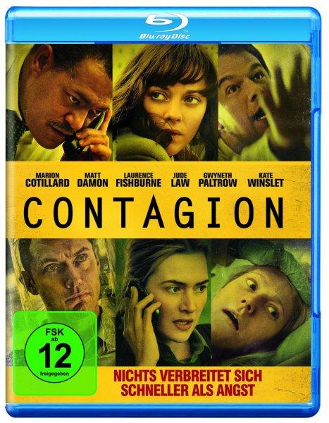 Contagion Blu-ray bei Amazon für 5,00€ mit Prime oder + 3€ Versandkosten bzw. ein Buch
