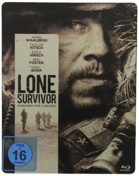 (alphamovies.de) Lone Survivor - Steelbook für 7,94€ + 2,99€ VSK