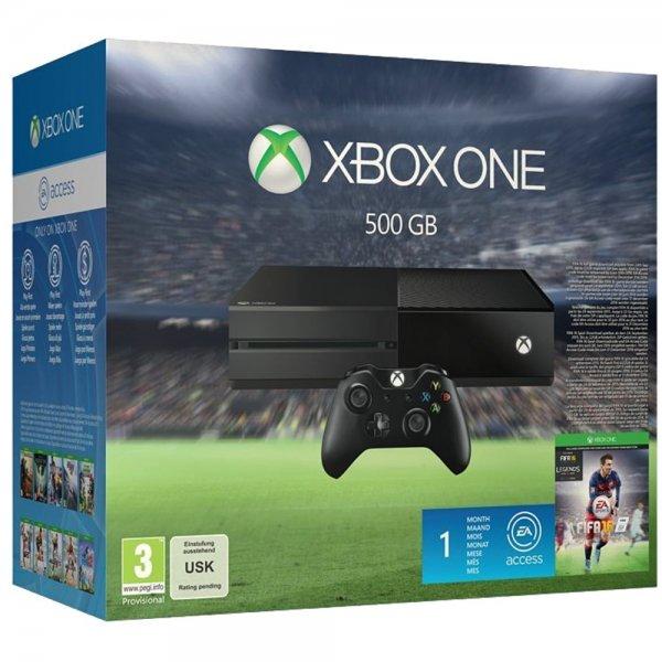 Xbox One 500 GB Incl Fifa 16 + 15 Fache Superpunkte 50,70 €