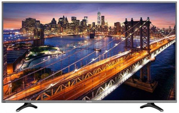 Hisense UB40EC591 102 cm (40 Zoll) Fernseher 4K TV (Ultra HD, Triple Tuner, Smart TV) [Energieklasse A]@AMAZON