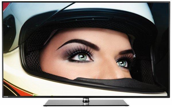 [Metro - nur mit Karte] Toshiba 55L5447DG 140 cm (55 Zoll) Fernseher (Full HD, Triple Tuner, 3D, Smart TV) - ab Donnerstag