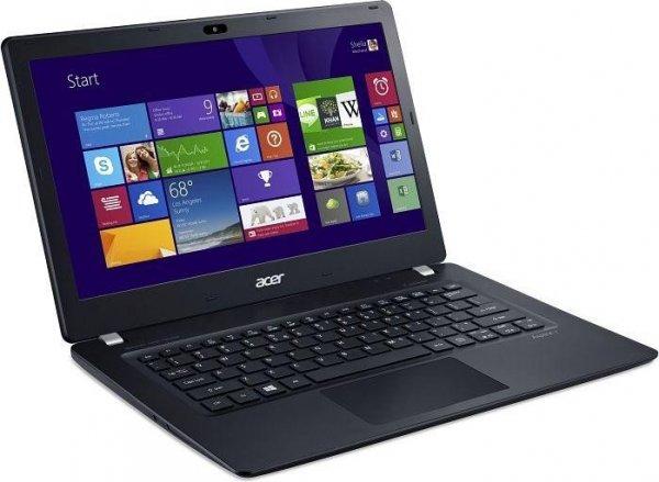 Acer Aspire V3-371-32T0, Intel i3, 4GB RAM, 500GB SSHD, 13,3 Zoll matt, Windows 8.1, 1,5kg, 6 1/2h Akku für 349€ bei ZackZack.de