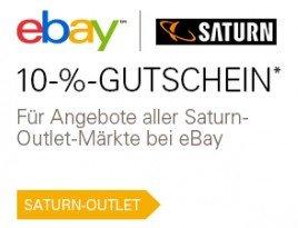 (Ebay Saturn Outlet) Sony PS4 500GB Weiß & Schwarz für 296,10 Euro bei Zahlung mit PayPal und 10% Gutschein + 15-fach Payback möglich (effektiv 273,90 Euro)
