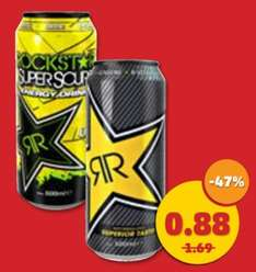 [Penny Bundesweit] Rockstar Energy für 0,88€ (+Pfand) am 23. & 24.10.