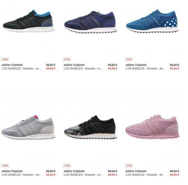 Adidas Los Angeles Sneakers für 44,95€ statt 89,95€ - kostenloser Versand