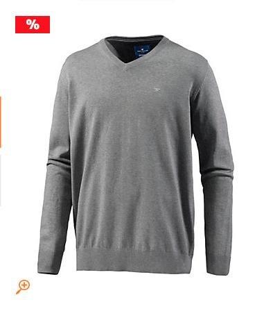 [Sportscheck] 50% auf Strickjacken und Pullover, z.B. Tom Tailor Herren V-Neck Pullover für 20,90€ statt 29,99€