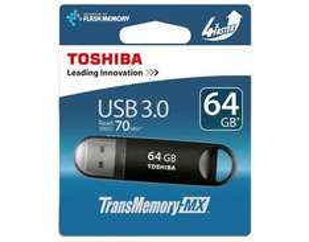 Toshiba 64GB USB 3.0  Stick Suzaku schwarz THNV64SUZBLACK für 19,95€ @Allyouneed