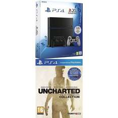 [Amazon.fr] PS4 Konsole 1 TB + 2. Controller + Uncharted The Nathan Drake
