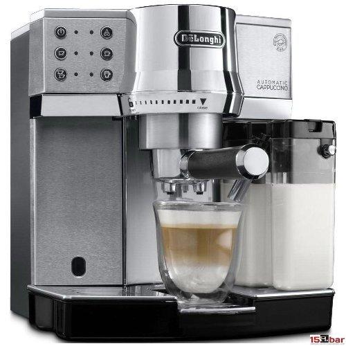 [Comtech] DeLonghi EC 850.M Espressomaschine / Siebträger / IFD Milchschaumsystem / 15 Bar / Metall