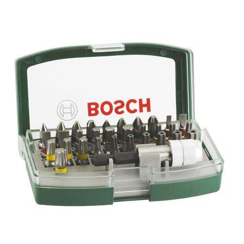 [Amazon Prime] Bosch Bit-Set 32-teiliges Schrauberbit-Set mit Farbcodierung