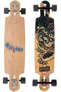 "Longboard Rivera Kung Fu Kitty (41,5"") plus Socken"