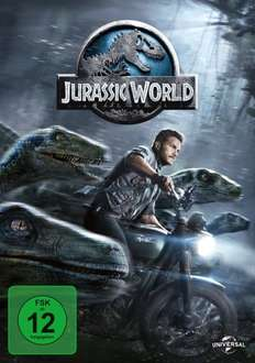 SATURN (Osnabrück) Jurassic World - DVD 7 EUR, BluRay 8 EUR