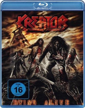 [EMP.de] Kreator - Dying Alive Blu Ray (+2 CDs) (Backstageclub Preis 8,10€)