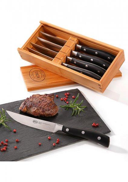 [OTTO mit Neukunden GS] RÖSLE Steakmesser-Set, 4-teilig + Füllartikel (>5€) für 15,xx €