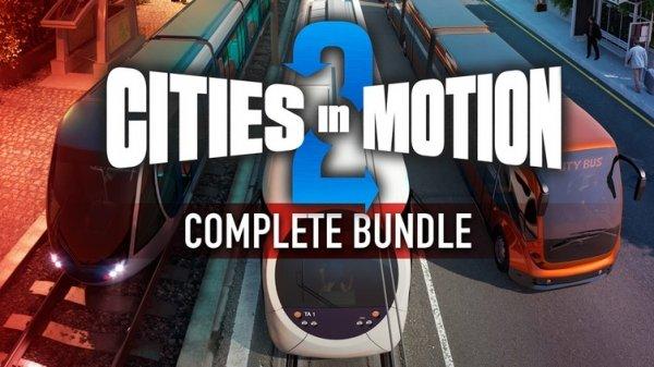 [STEAM] Cities in Motion 2 Complete Bundle mit 12 DLCs ! von Bundle Stars
