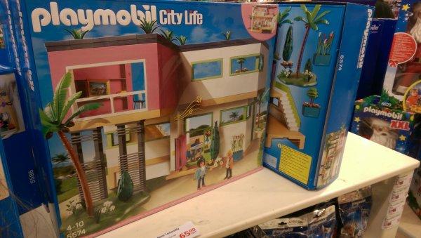 [Lokal Globus Kaiserslautern] Playmobil City Life - Moderne Luxusvilla