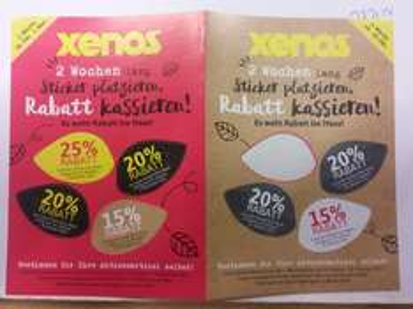 Xenos bundesweit: 25% auf einen Artikel nach Wahl