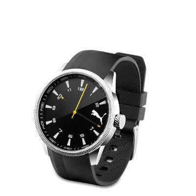 [druckerzubehör.de] Wieder da! Original PUMA Herren-Armbanduhr 6,99 + 5,97 Versand (Update: mit Gutschein für 1,99 + Versand!)