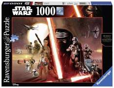 Ravensburger 19549 - Star Wars Episode VII, 1000-Teilig Puzzle @ Amazon Prime