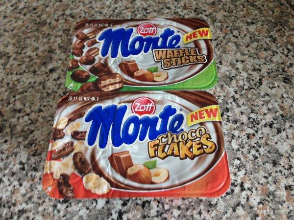 "[Lokal] Kaufland HD-Pfaffengrund: Zott Monte ""Waffle Sticks"" + Choco Flakes"