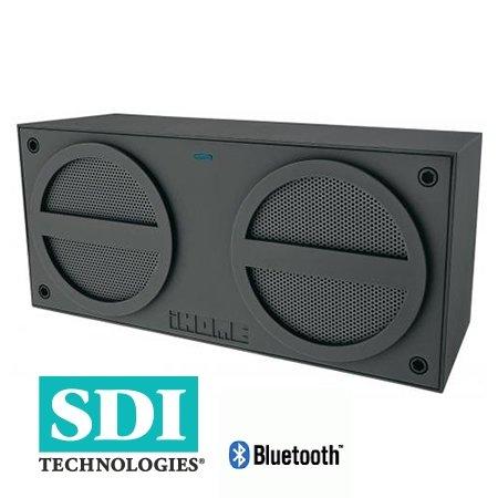 SDI iBT24GE iHome Bluetooth Boom Box grau